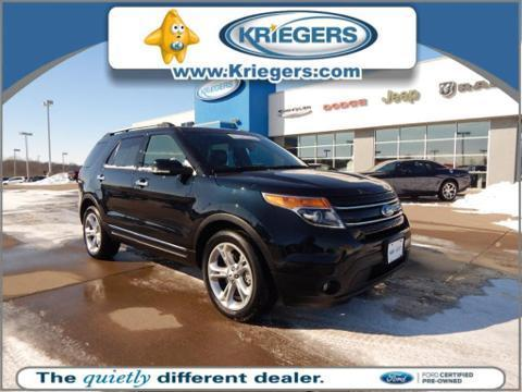 2015 Ford Explorer Limited SUV for sale in Muscatine for $38,600 with 21,098 miles