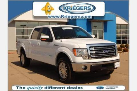 2014 Ford F150 Lariat Crew Cab Pickup for sale in Muscatine for $42,495 with 23,759 miles