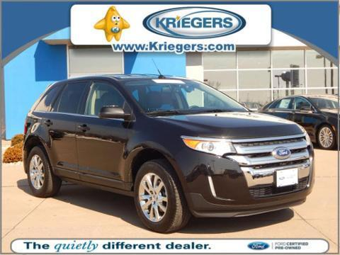2014 Ford Edge Limited SUV for sale in Muscatine for $29,467 with 32,416 miles