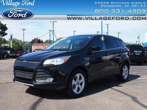 2014 Ford Escape SE SUV for sale in Dearborn for $23,980 with 23,674 miles.