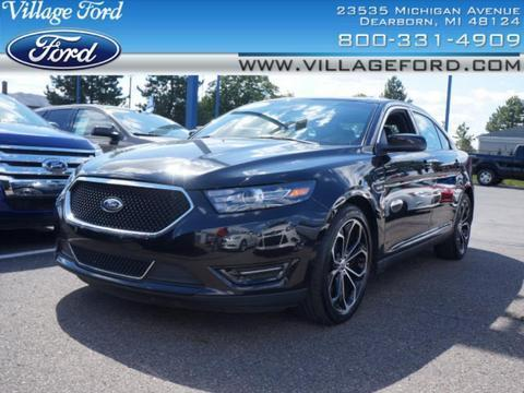 2013 Ford Taurus SHO Sedan for sale in Dearborn for $31,980 with 34,122 miles.