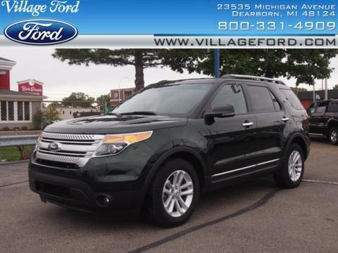 2013 Ford Explorer XLT SUV for sale in Dearborn for $26,980 with 22,693 miles.