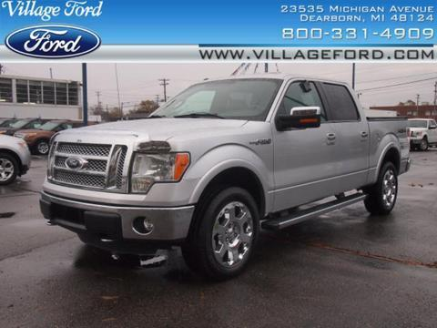 2011 Ford F150 Lariat Crew Cab Pickup for sale in Dearborn for $33,580 with 31,150 miles.
