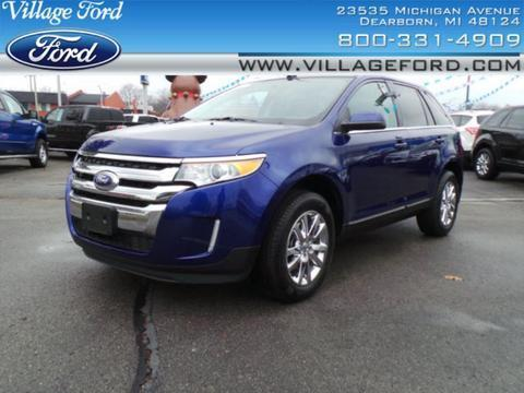 2014 Ford Edge Limited SUV for sale in Dearborn for $28,980 with 16,879 miles.