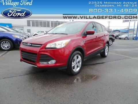 2014 Ford Escape SE SUV for sale in Dearborn for $22,580 with 37,172 miles.
