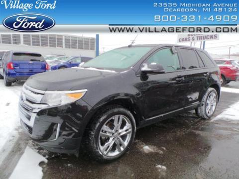 2013 Ford Edge SEL SUV for sale in Dearborn for $26,980 with 26,364 miles.