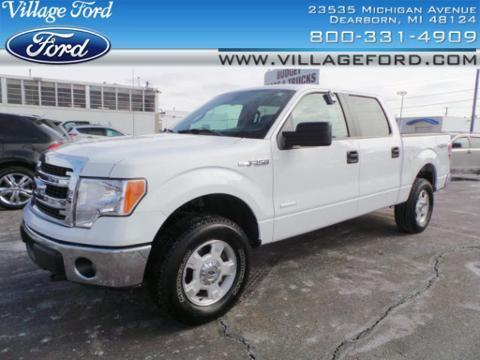 2014 Ford F150 XLT Crew Cab Pickup for sale in Dearborn for $32,280 with 13,884 miles