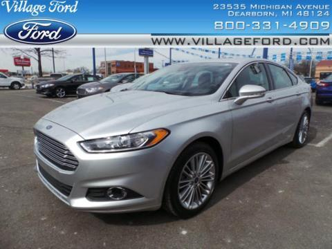 2013 Ford Fusion SE Sedan for sale in Dearborn for $19,980 with 21,160 miles