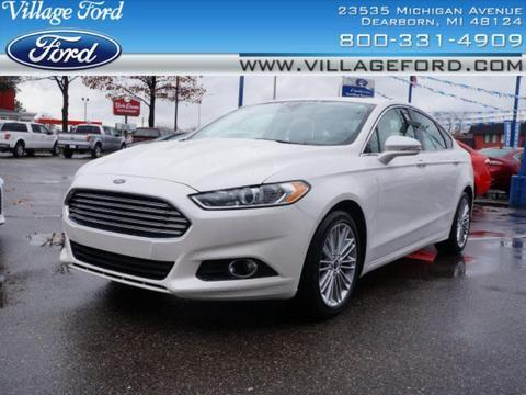 2013 Ford Fusion SE Sedan for sale in Dearborn for $20,980 with 22,330 miles.