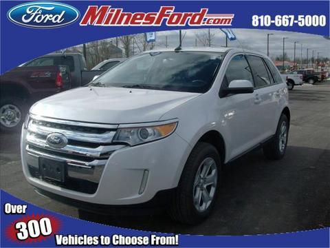 2013 Ford Edge SEL SUV for sale in Lapeer for $22,500 with 57,428 miles.
