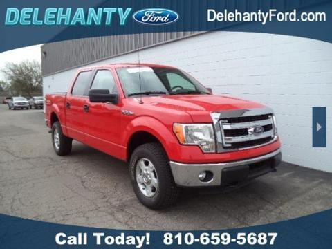 2014 Ford F150 Crew Cab Pickup for sale in Flushing for $30,400 with 13,526 miles