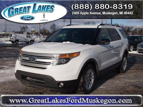 2013 Ford Explorer XLT SUV for sale in Muskegon for $28,988 with 48,561 miles.