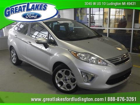 2012 Ford Fiesta SEL Sedan for sale in Ludington for $13,737 with 11,041 miles.