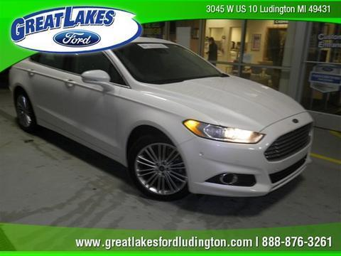 2013 Ford Fusion SE Sedan for sale in Ludington for $17,227 with 25,546 miles.