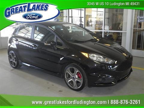 2014 Ford Fiesta ST Hatchback for sale in Ludington for $18,547 with 18,087 miles