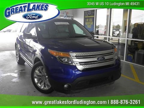 2013 Ford Explorer XLT SUV for sale in Ludington for $27,248 with 29,381 miles