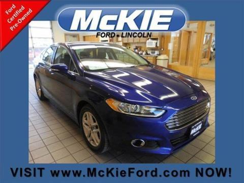 2013 Ford Fusion SE Sedan for sale in Rapid City for $21,075 with 19,770 miles