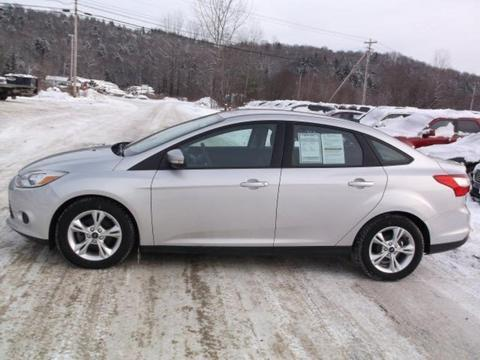 2013 Ford Focus SE Sedan for sale in Hardwick for $16,995 with 16,353 miles.