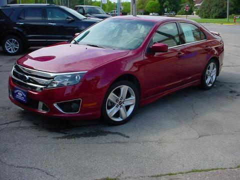2010 Ford Fusion Sport Sedan for sale in Clintonville for $16,450 with 49,202 miles