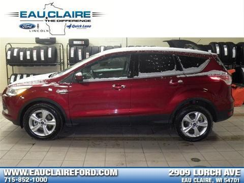 2014 Ford Escape SE SUV for sale in Eau Claire for $22,485 with 31,822 miles.