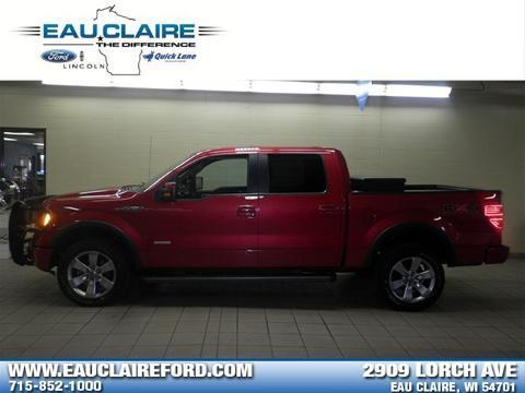 2011 Ford F150 Crew Cab Pickup for sale in Eau Claire for $31,978 with 34,143 miles