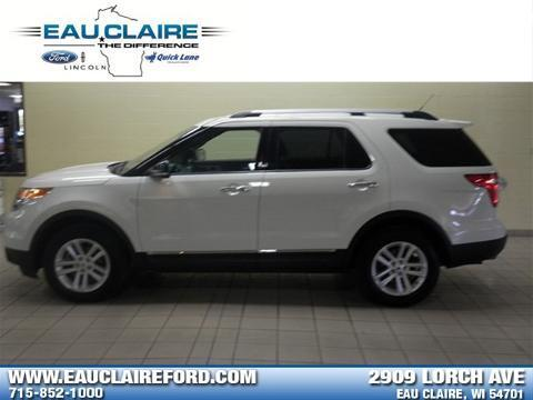 2012 Ford Explorer XLT SUV for sale in Eau Claire for $27,898 with 39,615 miles