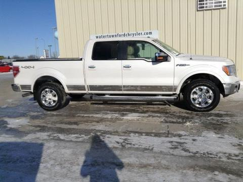 2013 Ford F150 Lariat Crew Cab Pickup for sale in Watertown for $36,975 with 24,278 miles
