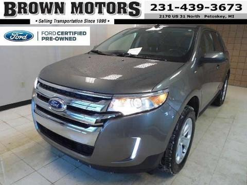 2013 Ford Edge SEL SUV for sale in Petoskey for $25,795 with 16,912 miles