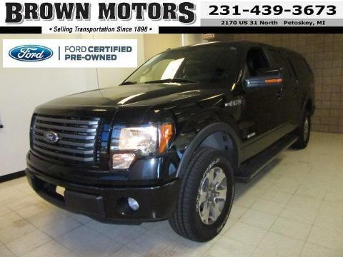 2011 Ford F150 FX4 Crew Cab Pickup for sale in Petoskey for $31,875 with 51,642 miles.