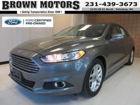 2013 Ford Fusion SE Sedan for sale in Petoskey for $18,885 with 29,000 miles