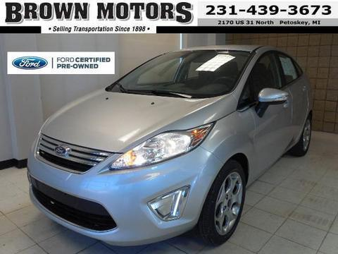 2011 Ford Fiesta SEL Sedan for sale in Petoskey for $12,485 with 41,706 miles