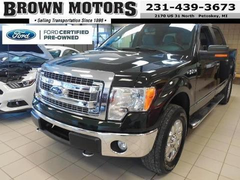 2013 Ford F150 XLT Crew Cab Pickup for sale in Petoskey for $30,495 with 38,286 miles