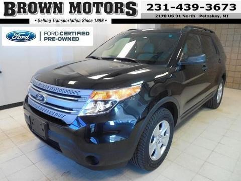 2013 Ford Explorer Base SUV for sale in Petoskey for $24,995 with 51,022 miles