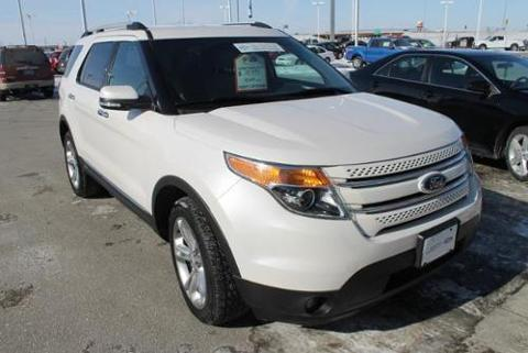 2013 Ford Explorer Limited SUV for sale in Fargo for $31,999 with 41,006 miles.