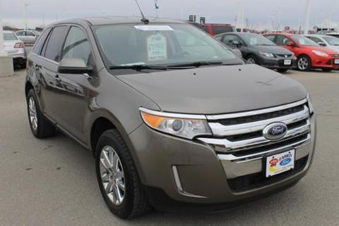 2013 Ford Edge Limited SUV for sale in Fargo for $27,999 with 37,465 miles