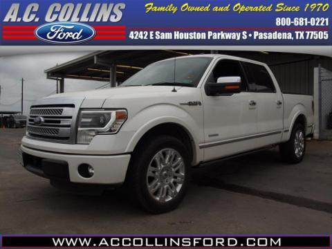 2013 Ford F150 Platinum Crew Cab Pickup for sale in Pasadena for $38,500 with 28,397 miles