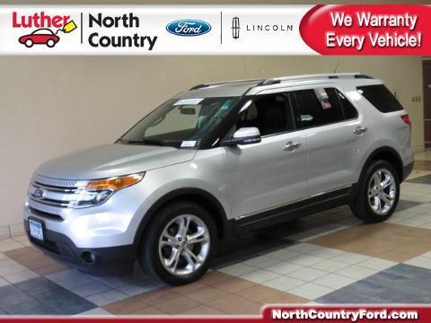 2011 Ford Explorer Limited SUV for sale in Coon Rapids for $26,595 with 69,675 miles.