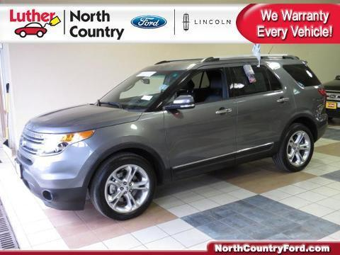 2014 Ford Explorer Limited SUV for sale in Coon Rapids for $33,295 with 23,016 miles