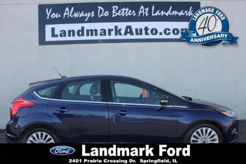 2012 Ford Focus Titanium Hatchback for sale in Springfield for $17,998 with 48,108 miles