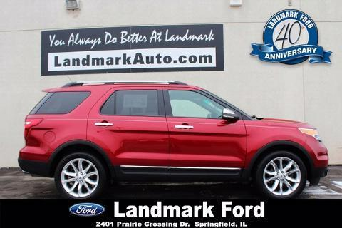 2013 Ford Explorer XLT SUV for sale in Springfield for $26,988 with 23,202 miles