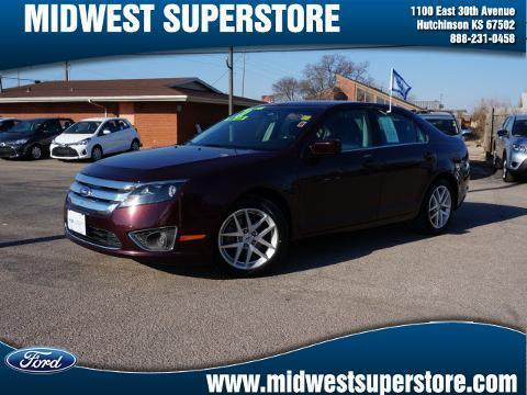 2011 Ford Fusion SEL Sedan for sale in Hutchinson for $14,991 with 62,805 miles