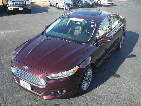 2013 Ford Fusion Titanium Sedan for sale in Dunn for $22,000 with 36,785 miles.