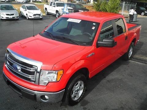 2014 Ford F150 XLT Crew Cab Pickup for sale in Dunn for $28,900 with 20,802 miles.