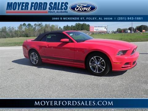 2014 Ford Mustang V6 Premium Convertible for sale in Foley for $26,950 with 23,996 miles