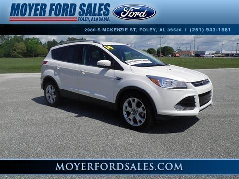 2014 Ford Escape Titanium SUV for sale in Foley for $25,800 with 33,605 miles