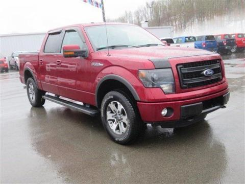 2013 Ford F150 FX4 Crew Cab Pickup for sale in Summersville for $41,999 with 38,858 miles
