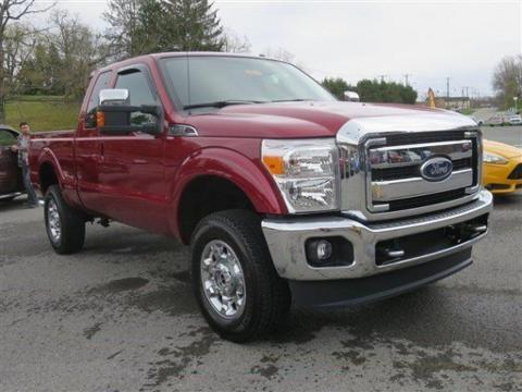 2014 Ford F350 Lariat Extended Cab Pickup for sale in Summersville for $46,999 with 4,724 miles