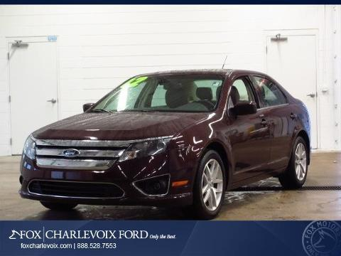 2012 Ford Fusion SEL Sedan for sale in Charlevoix for $16,992 with 32,580 miles.