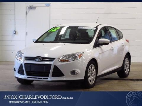 2012 Ford Focus SE Hatchback for sale in Charlevoix for $14,991 with 27,320 miles.