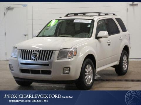2010 Mercury Mariner Premier SUV for sale in Charlevoix for $17,991 with 49,008 miles.